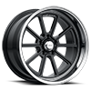 5 LUG VN510 DRAFT GLOSS BLACK W/ DIAMOND CUT LIP