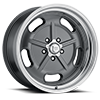 5 LUG VN511 GUNMETAL WITH CHROME LIP
