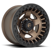 6 LUG D119 WARP - BEAD LOCK MATTE BRONZE W/ BLACK RING