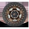 6 LUG WARP BEADLOCK - D119 MATTE BRONZE W/ BLACK RING