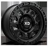 6 LUG XD132 RG2 SATIN BLACK