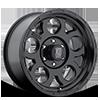 6 LUG XD122 ENDURO MATTE BLACK