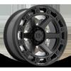 6 LUG XD862 RAID SATIN BLACK