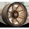 6 LUG XD863 TITAN MATTE BRONZE WITH BLACK LIP