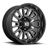 6 LUG XD864 ROVER GLOSS BLACK MILLED