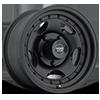 5 LUG AR23 SATIN BLACK W/ CLEAR COAT