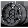 6 LUG AR969 ANSEN OFF ROAD SATIN BLACK W/ SATIN BLACK RING