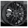 5 LUG AR904 SATIN BLACK