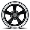 5 LUG VF479 SHOWN WITH CUSTOM GLOSS BLACK AND POLISHED CENTER WITH POLISHED BARREL