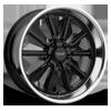 5 LUG VN507 RODDER GLOSS BLACK W/ DIAMOND CUT LIP