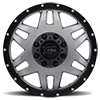 8 LUG XD130 MACHETE DUALLY MATTE GRAY W/ BLACK RING