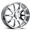 6 LUG 159 SPIKE CHROME