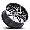5 LUG R11 BLACK MACHINED