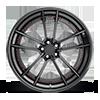 5 LUG SFO MATTE BLACK W/ GLOSS BLACK LIP & CANDY RED HARDWARE