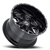 5 LUG SC-10 BLACK MILLED