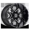 5 LUG SC-10 BLACK MACHINED
