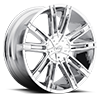 6 LUG V28 CHROME