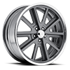 5 LUG VN407 SHELBY COBRA SL TWO-PIECE MAG GRAY CENTER POLISHED BARREL