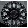 6 LUG XD128 MACHETE SATIN BLACK